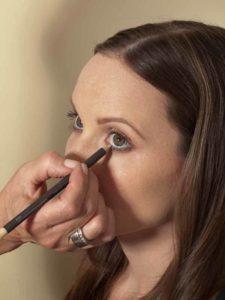 Business Make up Look - Kajal auftragen 2