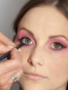 Pink Lady Make up Look – Kajal 1