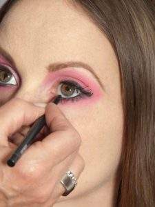 Pink Lady Make up Look – Kajal 2