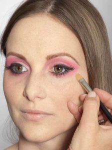 Pink Lady Make up Look – Concealer 1