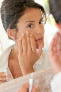 Hautpflege für die Nacht