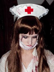 Halloween aktuelle Trends Krankenschwester