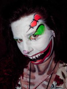 Halloween aktuelle Trends weiblicher Joker