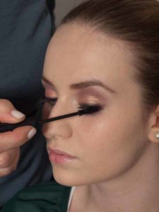 Nude Look, natürliches Make up - Wimpern tuschen 1