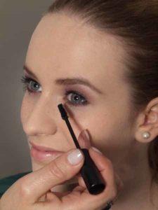 Nude Look, natürliches Make up - Wimpern tuschen 3