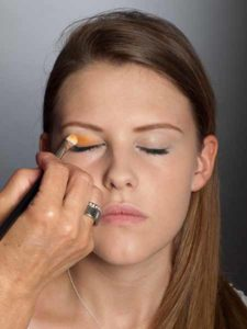 Colour Blocking Look -Lidschatten Farbe 1