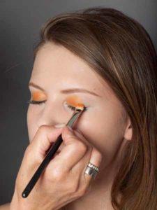Colour Blocking Look -Lidschattenfarbe 2