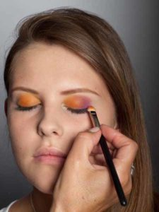 Colour Blocking Look -Lidschattenfarbe 3