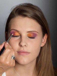 Colour Blocking Look -Lidschattenfarbe 4
