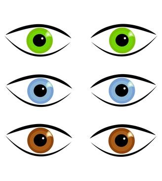 Augenfarben - Komplimentärfarben schminken