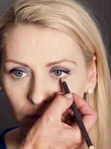 Daily Make up - Kajalstrich unteres Augenlid 2