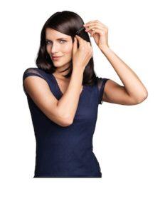 Frisur mit Innenrolle - Schritt 5