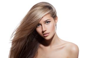 Schönes gepflegtes Haar