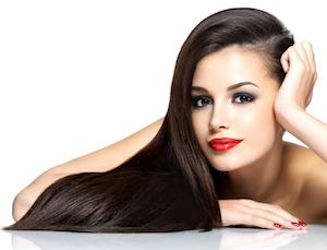 Schönes Haar ohne Spliss