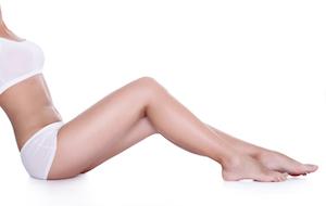 Streichelzarte Beine