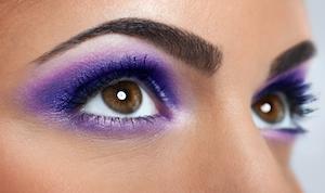 Die empfindliche Haut an den Augen