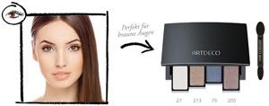 braune augen schminken schminktipps f r braune augen. Black Bedroom Furniture Sets. Home Design Ideas