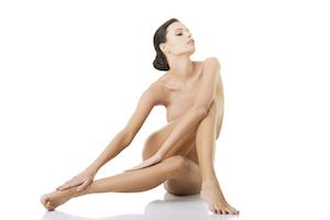Glatte Haut ohne Cellulite