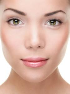 Schöne Haut ohne Pigmentflecken