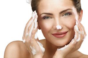 Gesicht-reinigen