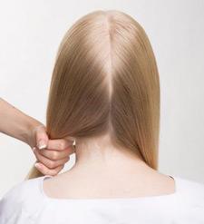 Zopfknoten im Nacken - Step-1