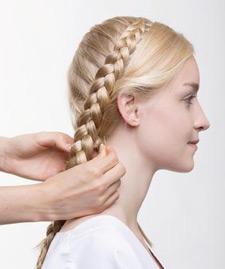 Zopfknoten im Nacken - Step 3