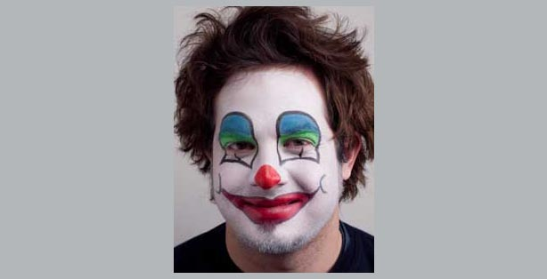Karneval fasching schminken make up vorlagen ideen for Clown schminktipps