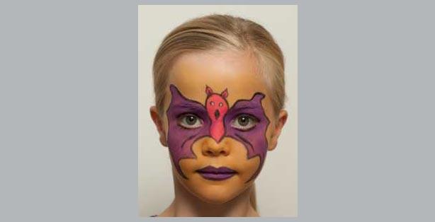 Karneval Fasching Schminken Make Up Vorlagen Ideen