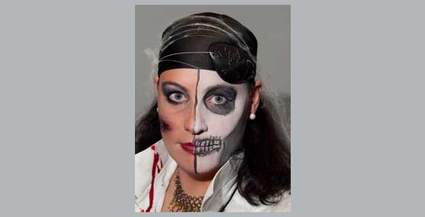 Karneval Fasching Schminken Make Up Vorlagen Ideen