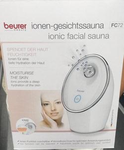 Gesichtssauna von Beurer FC72