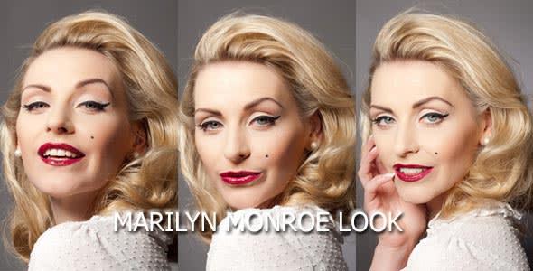 Marilyn Monroe Makeup Look schminken