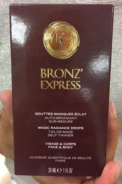 Academie Bronz'Express Lotion