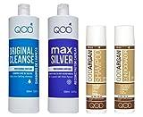 Organic Brasilianische Keratin QOD MAX SILVER Haarglättung