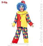 Clown Chico 2tlg. Kinderkostüm