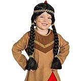Indianerperücke für die kleine Squaw