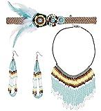Set für das Indianerin-Kostüm