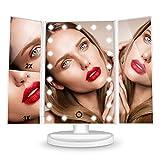 Faltbarer LED Kosmetikspiegel