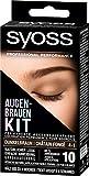 SYOSS Augenbrauen-Kit permanente Augenbrauenfarbe