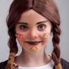Indianer schminken – Squaws dürfen im Karneval oder Fasching nicht fehlen