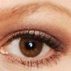 Braunes Nude Augen Make up für jeden Tag