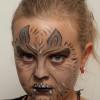 Werwolf schminken – Vorher Nachher