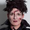 Monster für Halloween schminken – Vorher Nachher