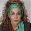Als zauberhafte Fee für Karneval schminken – Vorher Nachher