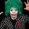 Videoanleitung zum Schminken eines Horror-Clown zu Halloween
