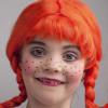 Pippi Langstrumpf – das stärkste Mädchen der Welt für Karneval schminken