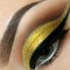 Glamour Augen Make up für die Festtage