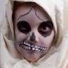 Skelett Kostüm für Halloween selber machen