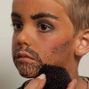 Kinderschminken Cowboy mit Bart – Schminkanleitung und Kostüm selber machen